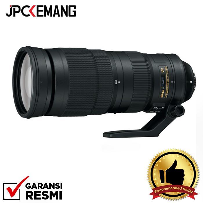 Nikon AF-S NIKKOR 200-500mm f/5.6E ED VR jpckemang GARANSI RESMI
