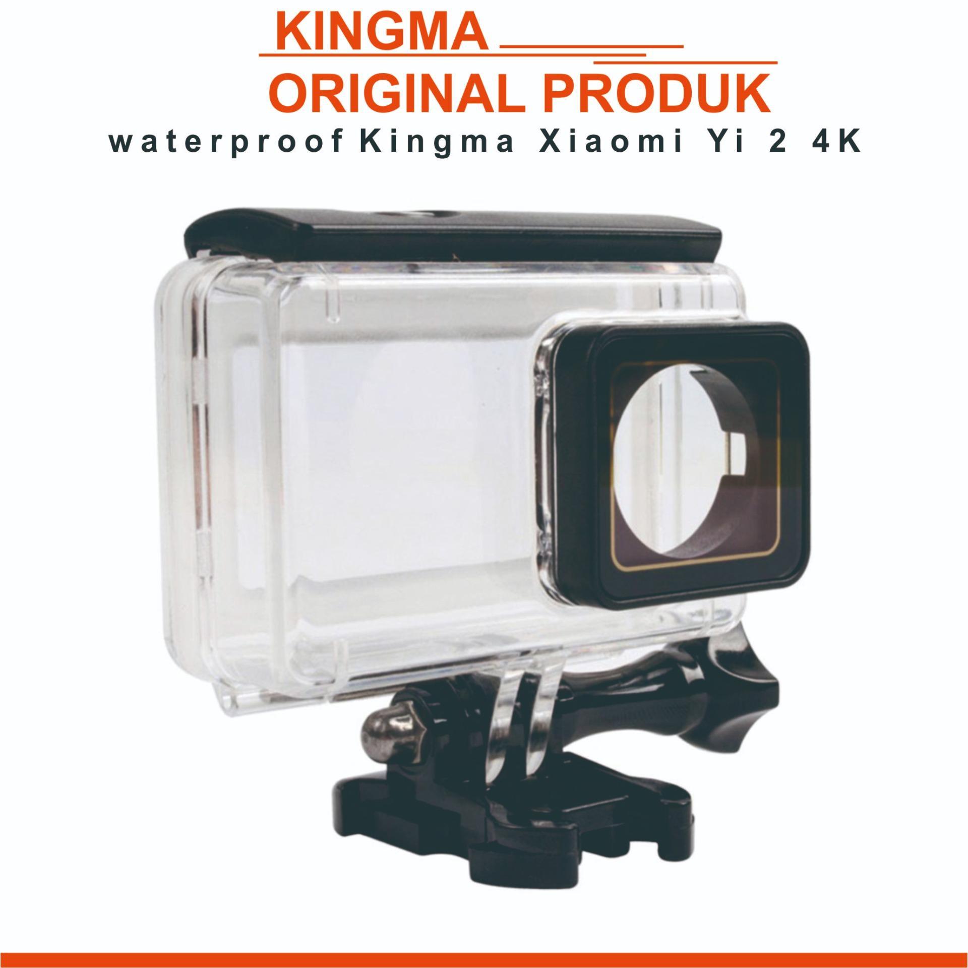 Jual Produk Kingma Online Terbaru Di Paket 2pcs Battery Baterai Batre Xiaomi Yi Dual Charger Usb Cable Original Waterproof Case For 2 4k