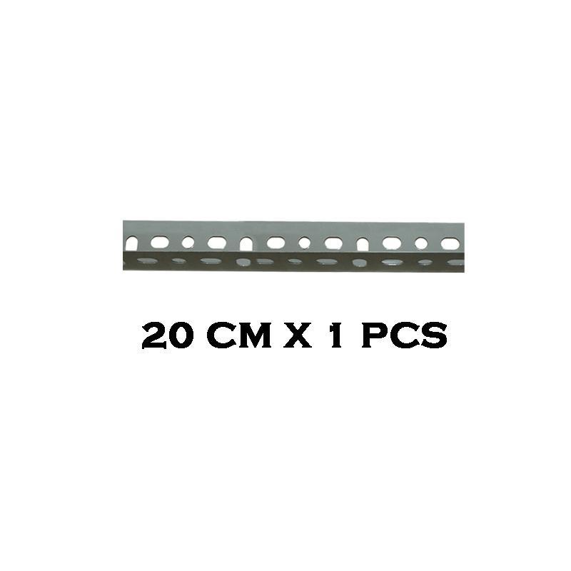 EELIC BER-1.2MM -20CM Besi Siku Lubang Rak Serbaguna Tebal 1.2 MM cocok Dengan Panjang 20 CM