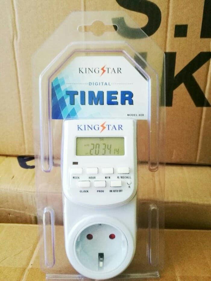 Timer Listrik Digital stop kontak listrik kaiser
