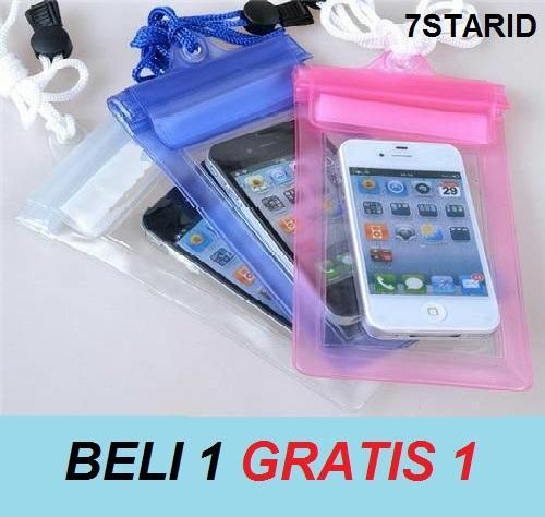 BUY 1 GET 1 Waterproof Bag / Sarung Handphone Anti Air For Universal Phone