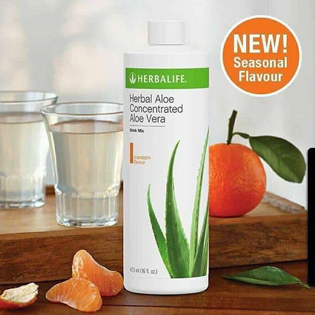 herbalife_#aloe concentrate jeruk mandarin #pelangsing, detoksifikasi pencernaan, mengobati maag, menghancurkan lemak tubuh