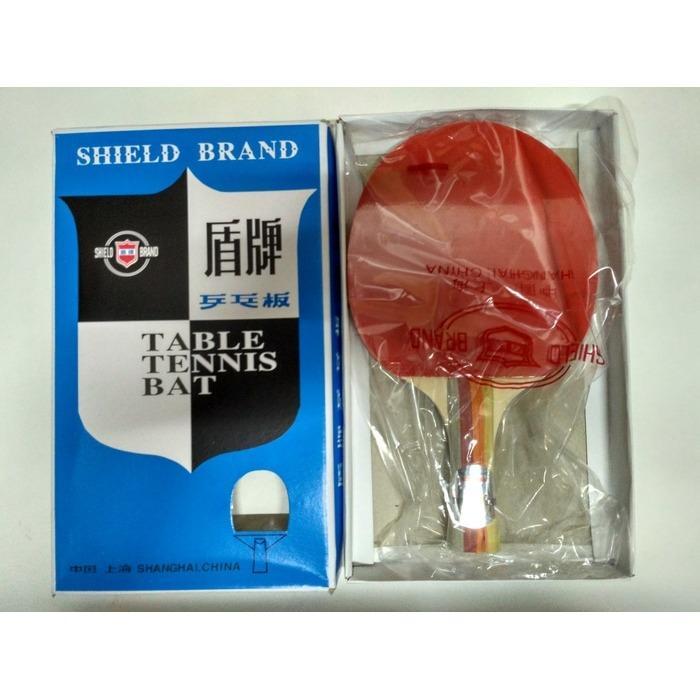 bet pingpong merk shield / bat tennis meja terbaru / bat tennis meja karet / olahraga