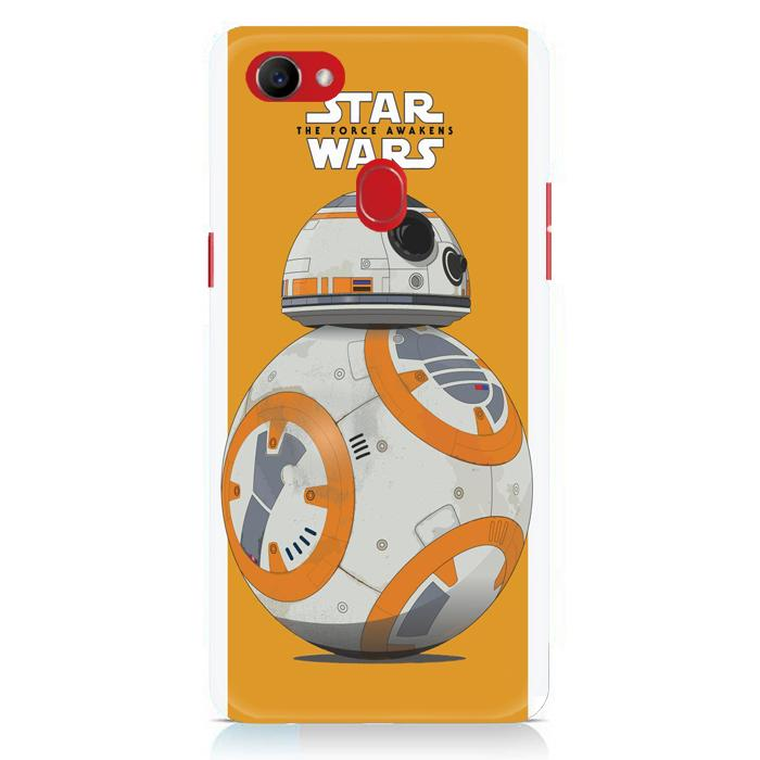 Casing Hardcase Oppo F7 Motif Bb8 Force Awaken Star Wars Movies E1107