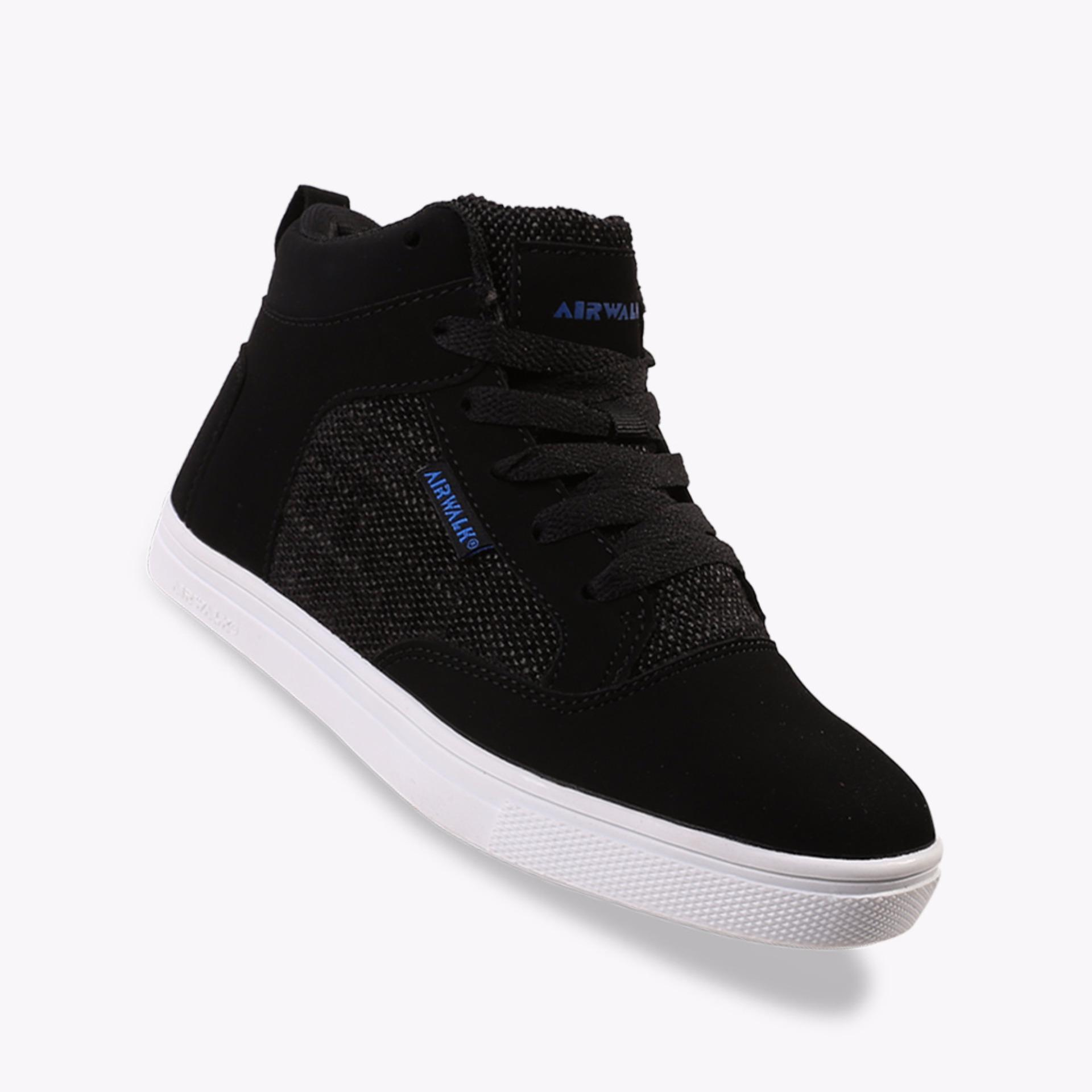 Airwalk Jorge Boys Sneakers Shoes - Hitam