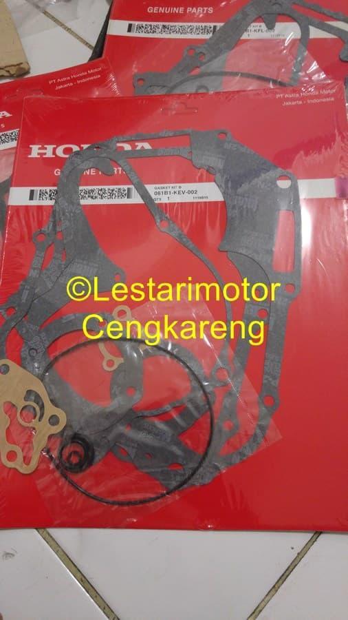Packing Fullset Supra X Lama / Grand / Prima Original Honda(A+B)