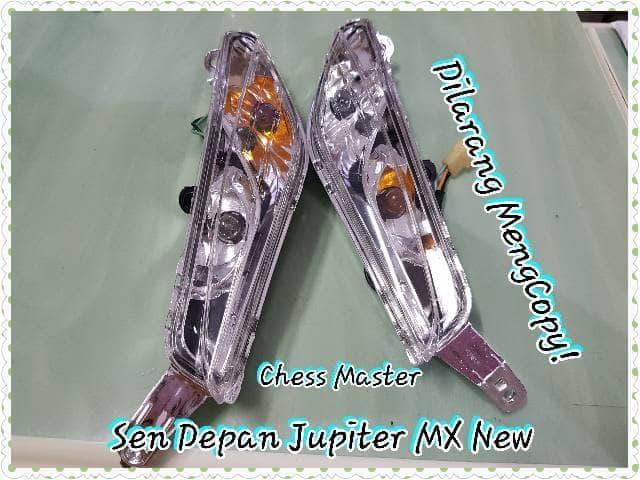 [PROMO EKSKLUSIF] Lampu Sen Depan Yamaha Jupiter Mx New Assy LIMITED