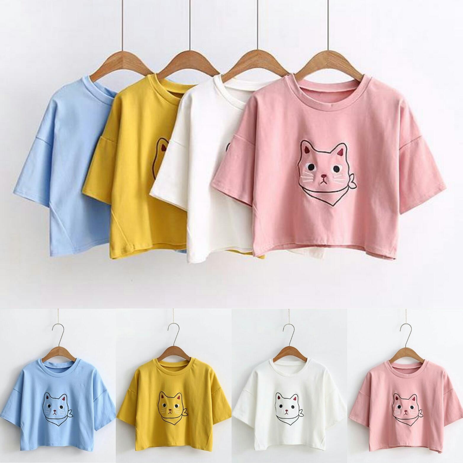 ... Fashion Terkini / Koleksi Kekinian / Kaos Wanita / Tshirt Spandek. IDR 25,999 IDR25999. View Detail. Baju Bagus SFS Cat Crop Tee sf
