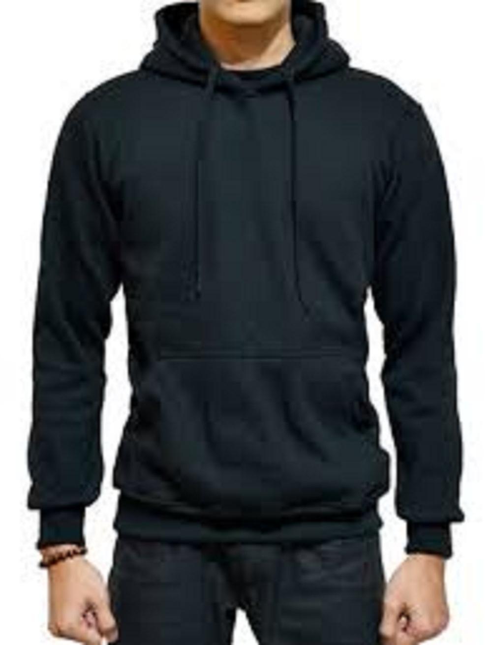 Jaket Hoodie Pria Terbaru Terlengkap Sweater Polos Zipper Biru Dongker Navy Az99 Sweter Korea