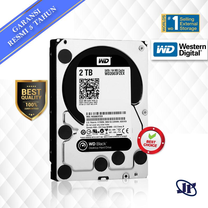 Western Digital WDC Black 2TB PC SATA3 64MB 7200 RPM 3.5
