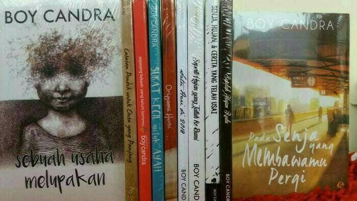 Paket 5 novel boy chandra