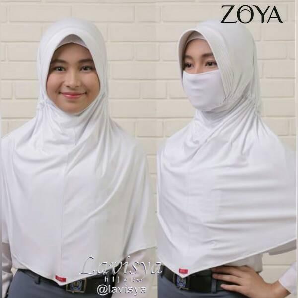 Hijab Zoya Bergo Anti Debu Syila