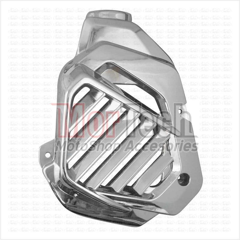 Gookem Cover - Tutup Radiator Motor Vario 125 cc Chrome