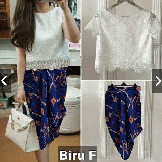 3d2d8afded883fc24de4d972702ccd5e Review List Harga Model Gaun Muslim Batik Kombinasi Brokat Terbaik waktu ini