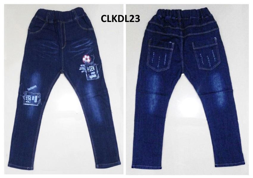 CLKDL23 - Celana Panjang Anak Cowok Tanggung Bola Fashion untuk USIA 6 - 11Thn
