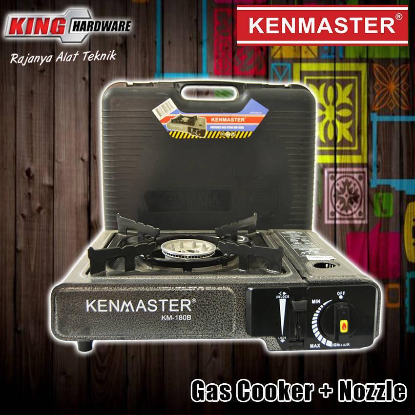 Kompor Gas Portable + Nozzel KM 130 B Kenmaster