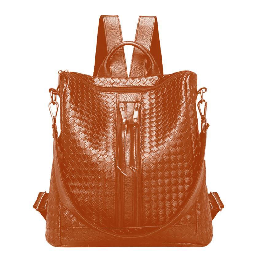 Fashionity Fiona Hobo Backpack - Tas Ransel Hobo  Wanita 2in1 - Hitam