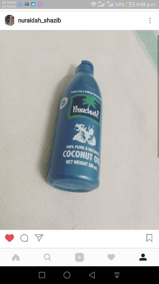 oil anti rontok | shampo anti rontok | coconut oil | minyak rambut