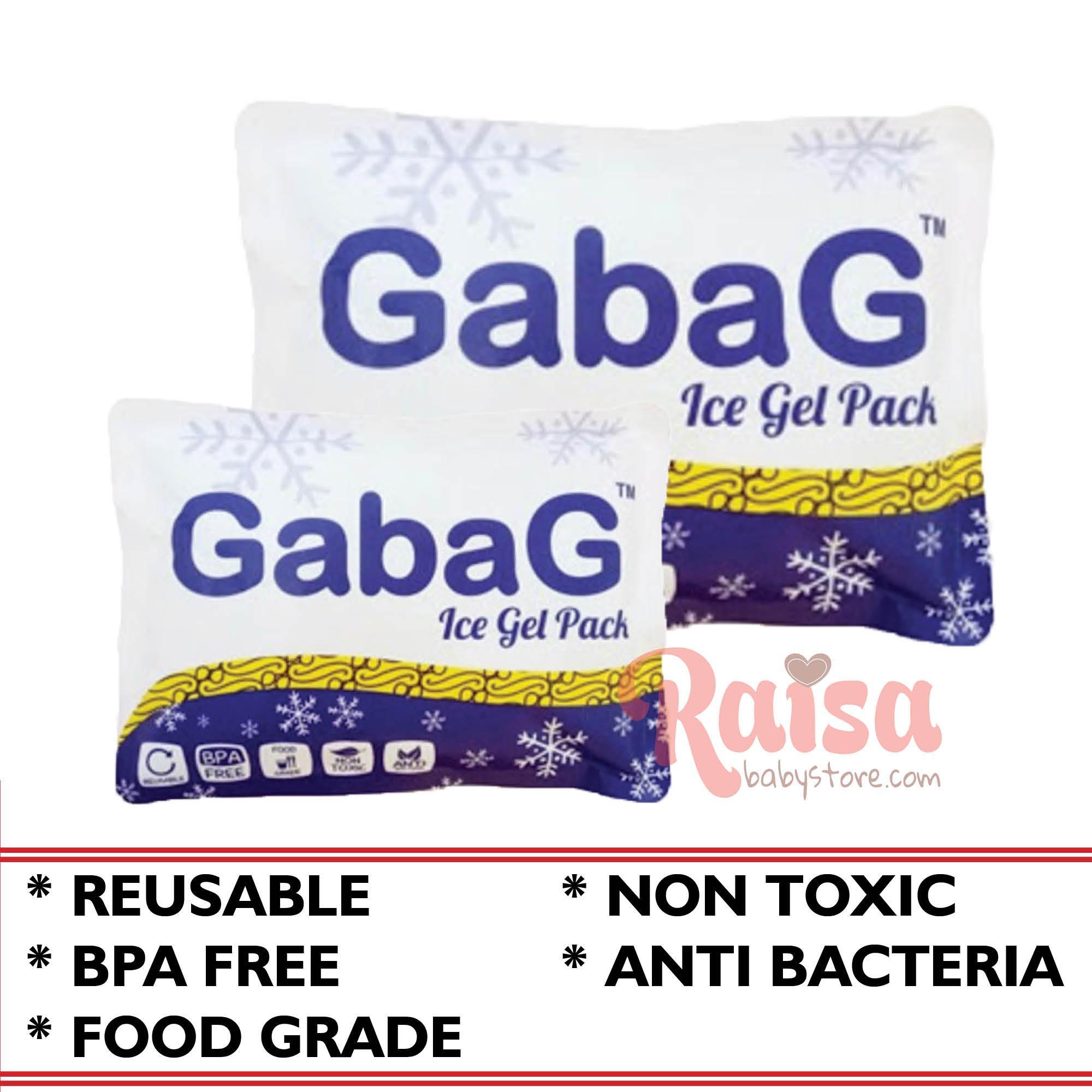 Gabag Ice Gel Pack Pendingin ASI / Cooler Gel Berkualitas untuk Panas dan Dingin
