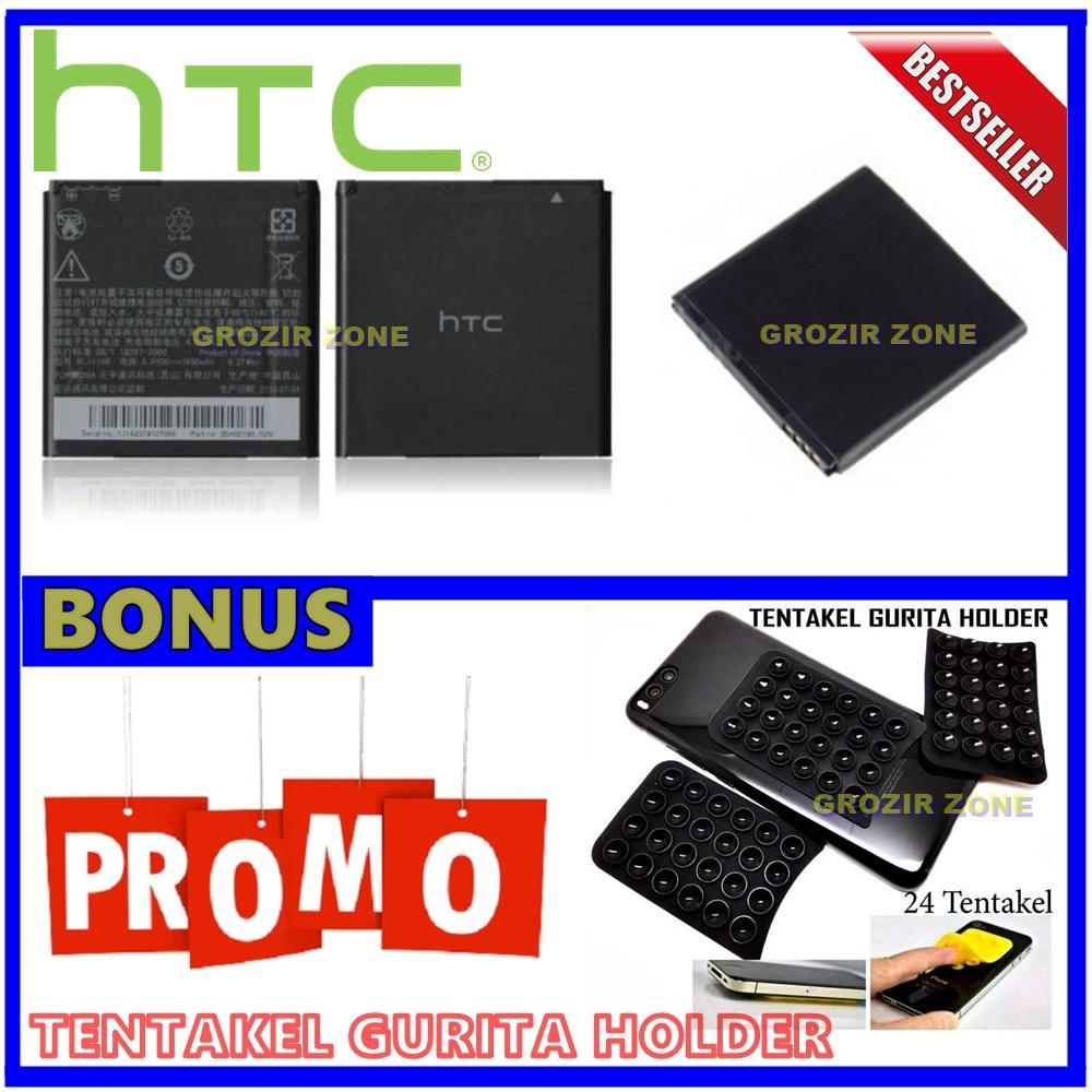 Htc Baterai / Battery HTC Desire VC / BL 11100 Original Kapasitas 1650mAh + Gratis Holder