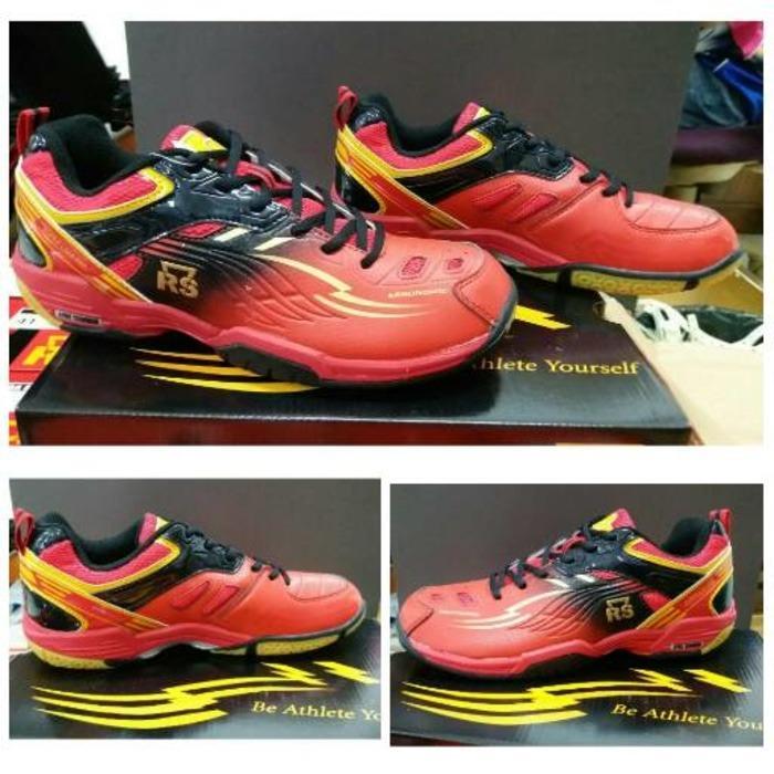 Sepatu Badminton Bulutangkis Rs Super Liga 800 (R-B)
