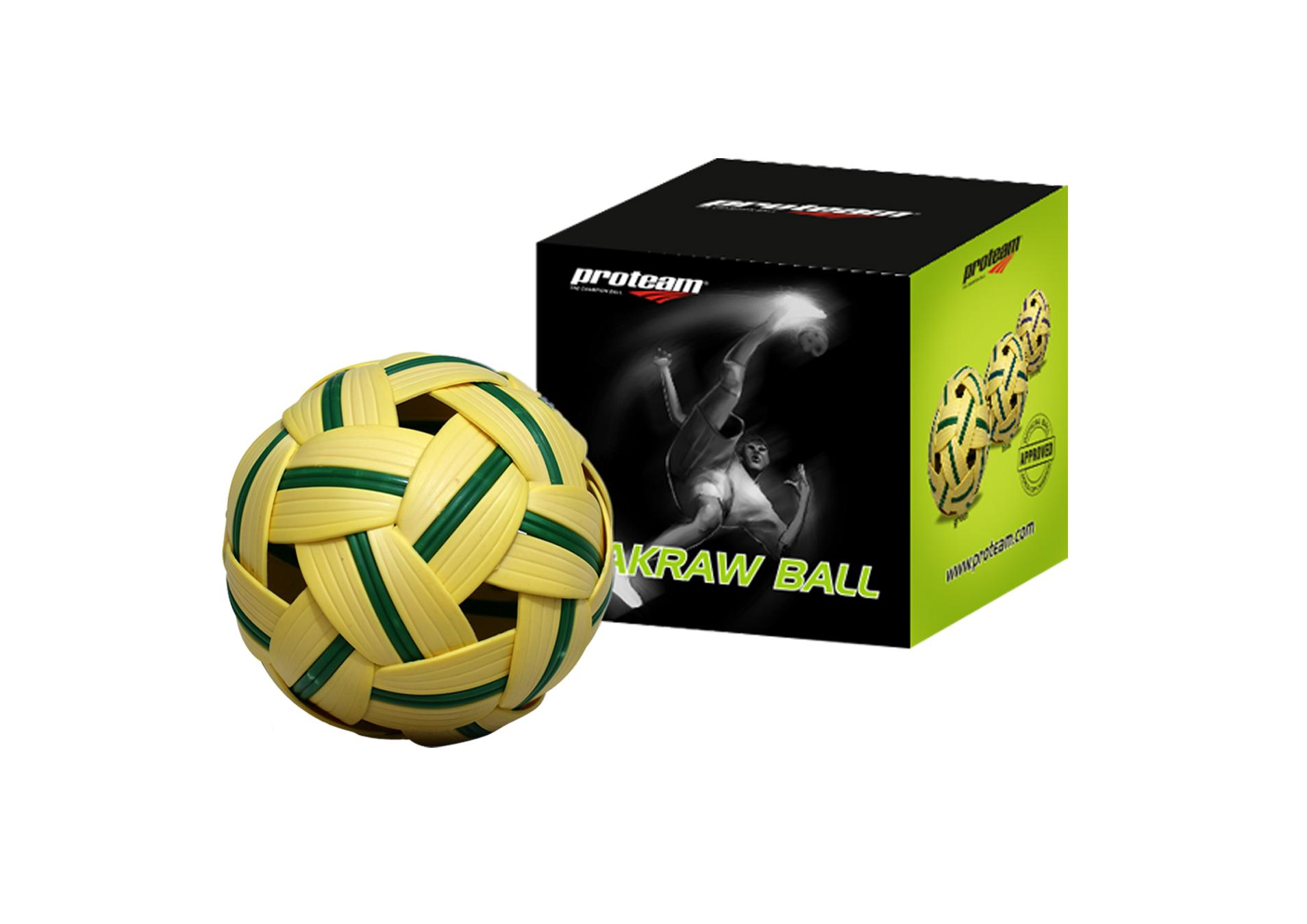 Proteam Bola Takraw - Cokelat By Proteam Indonesia