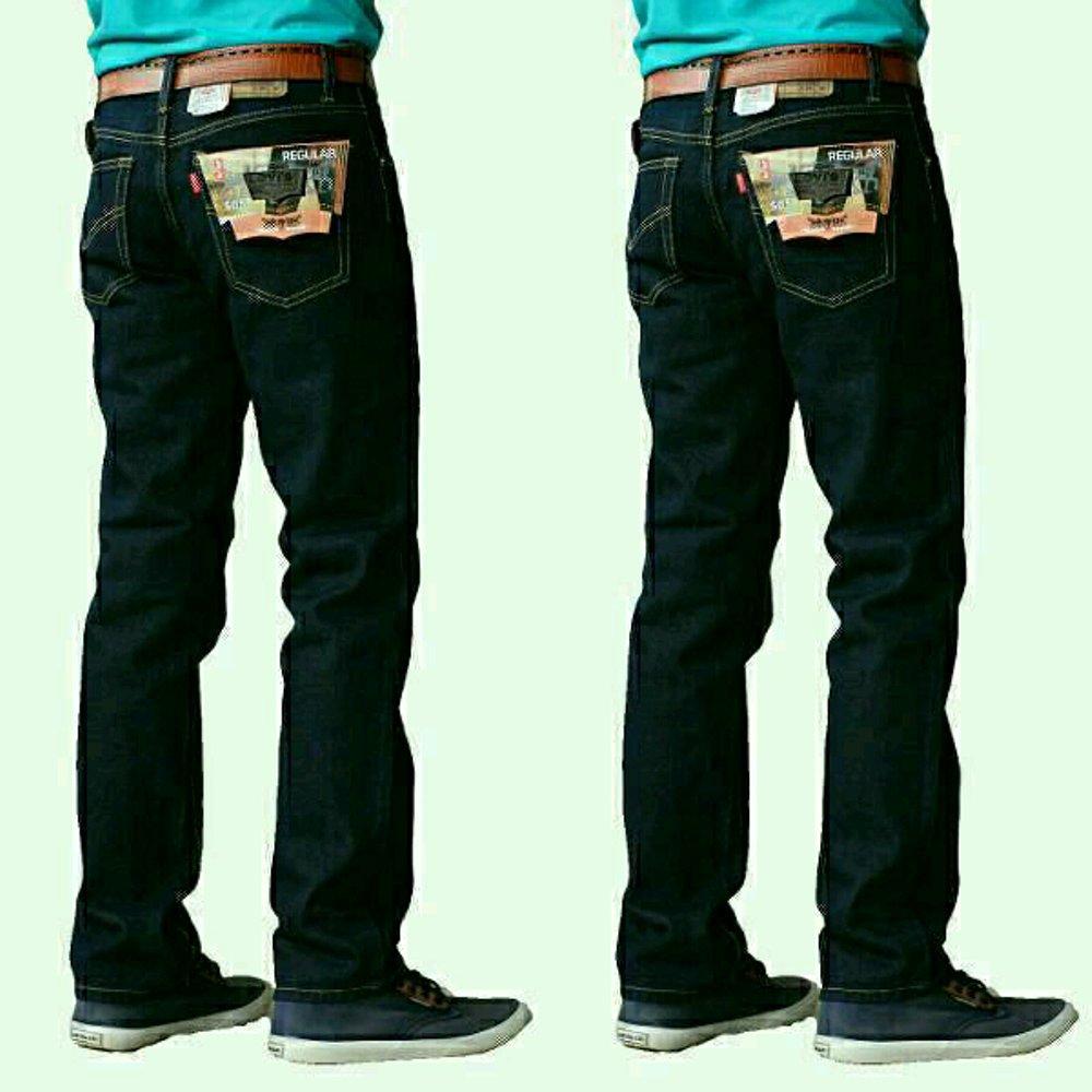 WSColection celana jeans standar model terbaru bahan bagus jahitan rapi harga murah