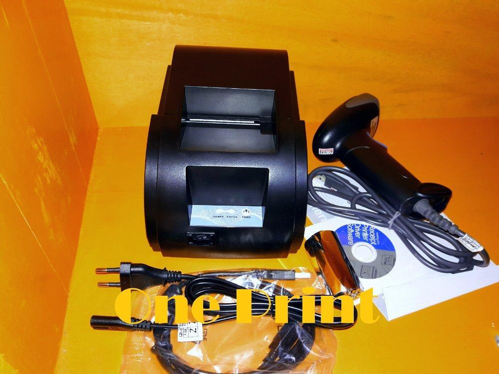 Paket Kasir murah Printer + Scanner Barcode