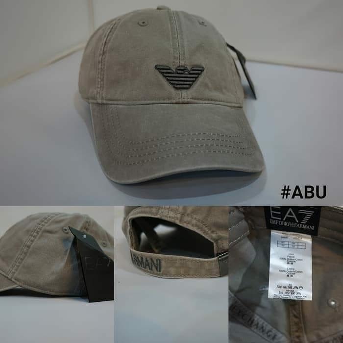 Topi pria   topi import Armani original 41ebb2af91