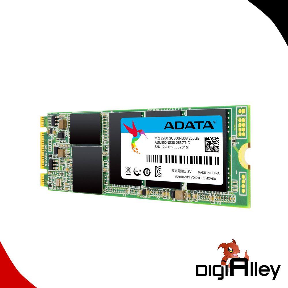 SSD M2 ADATA SU800 256GB 3D NAND 256GB M 2 SATA EVO PRO GAMING Drive