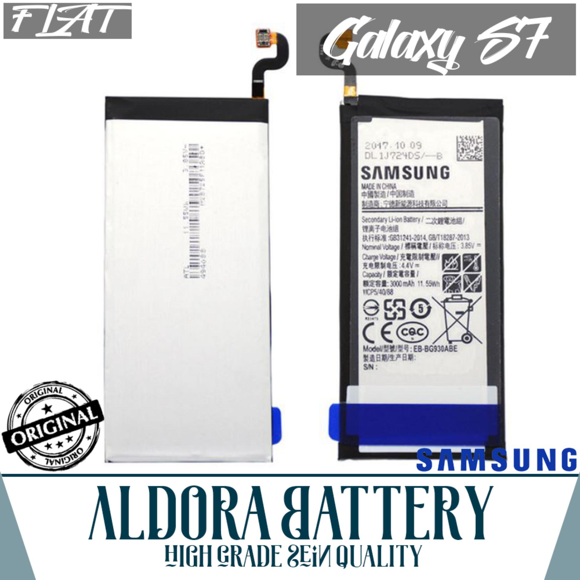 Samsung Galaxy S7 Edge Black Pearl 128gb Garansi Resmi Sein Gratis Flat Aldora Baterai For High Grade Battery Quality