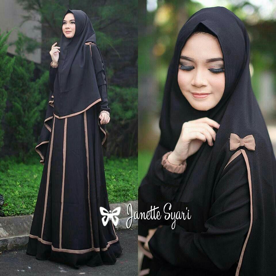 J&C Setelan Muslim Janetta / Dress Maxi / Maxi Muslim / Setelan Maxi Dress / Dress Muslim / Setelan Busana Muslim / Setelan Baju Muslim / Baju Gamis Wanita / Setelan Muslim / Hijab Fashion / Hijab Style