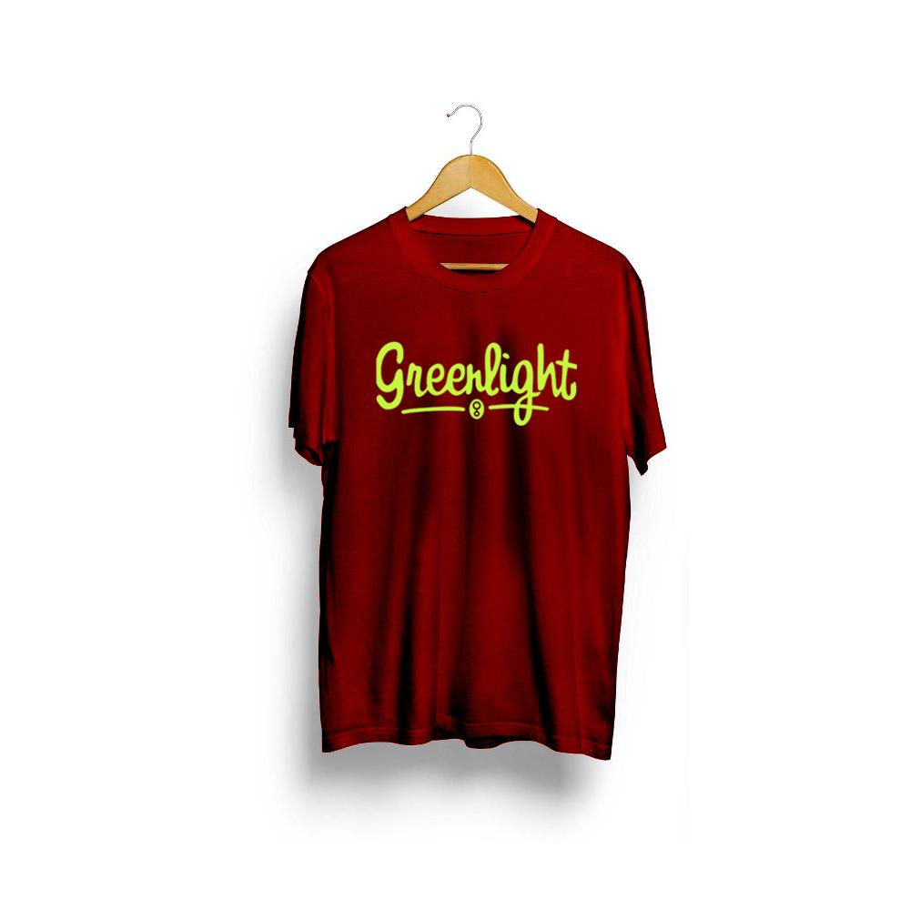 Kaos Distro Greenlight Ariel Premium Quaity / Tshirt Greenlight / Baju distro greenlight Stabilo Pr