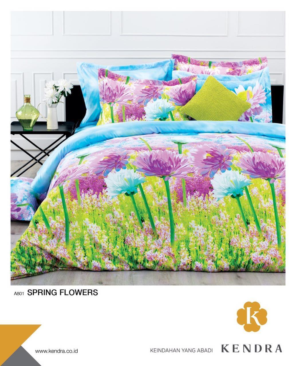 Jual Selimut Sutra Halus Jumbo 220x200 Terlaris Motif Dewasa Brown Bedcover Kendra Modern 120 Spring Flowers
