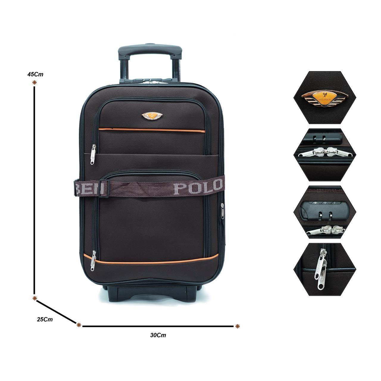 Koper Polo Ben Original Promo PG0022 20inch BlackIDR149500. Rp 152.830