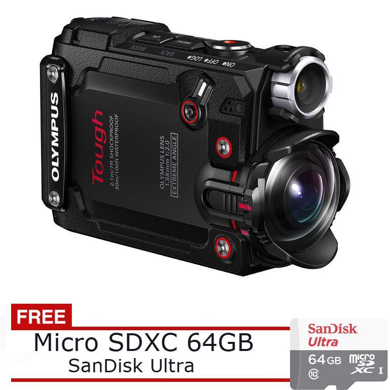 Olympus Stylus TG-Tracker 4K Action Cam - Waterproof + Free SDXC 64GB