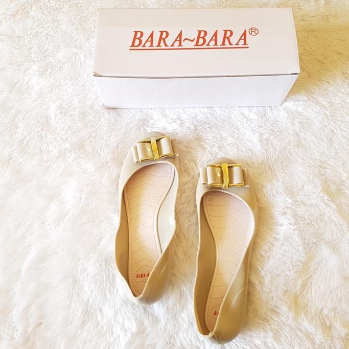 Jelly Shoes Wanita - Sepatu Flat Wanita Jelly Import NF-823