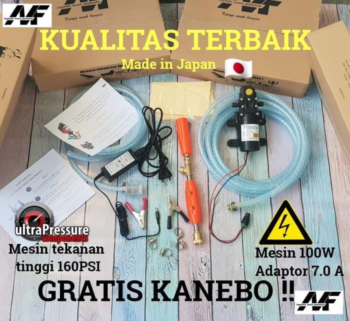 Harga Diskon!! Mesin Kuat Bisa Mode Kabut Dan Kasar Alat Cuci Motor Ac Motor Pump Te - ready stock