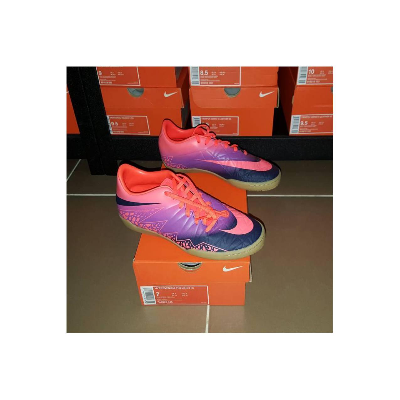 SALE!! Sepatu Futsal Nike Hypervenom Phelon II IC - Crimson