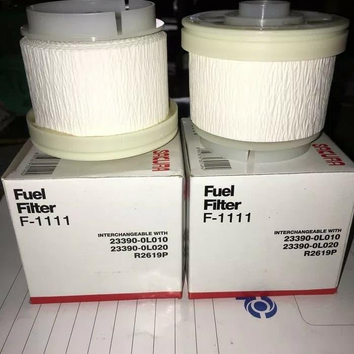 Pake filter oli, udara dan solar toyota innova diesel Fortuner hilux