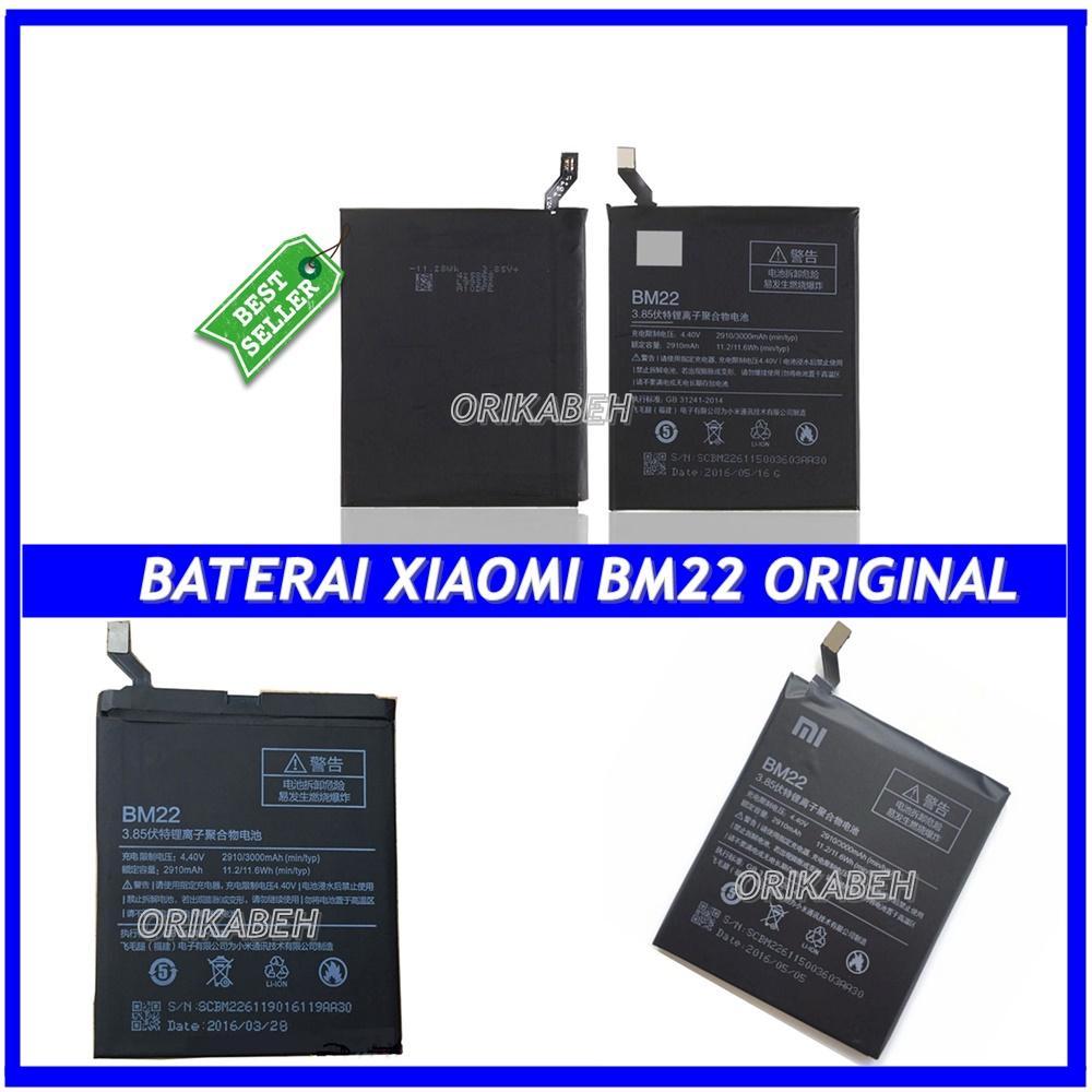 Xiaomi Baterai / Battery BM22 For Xiaomi MI5 / MI 5 Original - Kapasitas 2910mAh ( sm_acc )