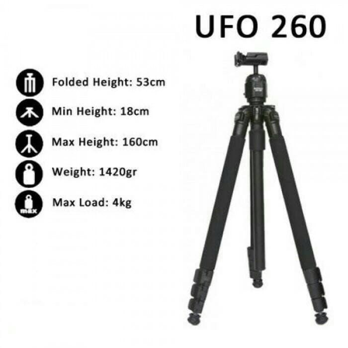 Best Seller!! Tripod Excell Ufo 260 - ready stock