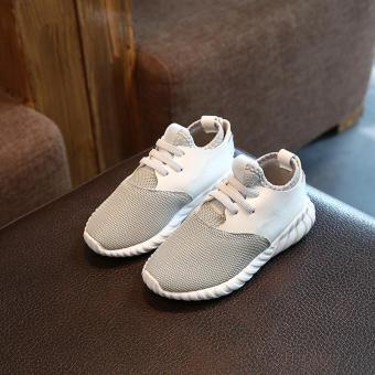 Bandingkan Toko 18 Musim Semi dan Musim Gugur Sepatu Anak model baru Anak laki-laki sepatu kasual Kain jaring bernafas sepatu olahraga modis anak prempuan ...
