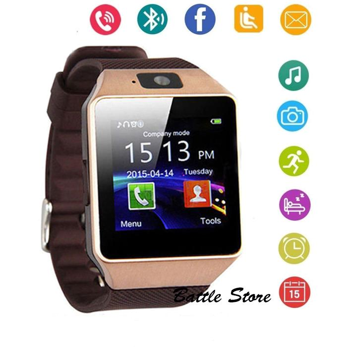 Smartwatch U9 / DZ09 / Smart Watch DZ09 Support Sim Card & Memory Card / Jam