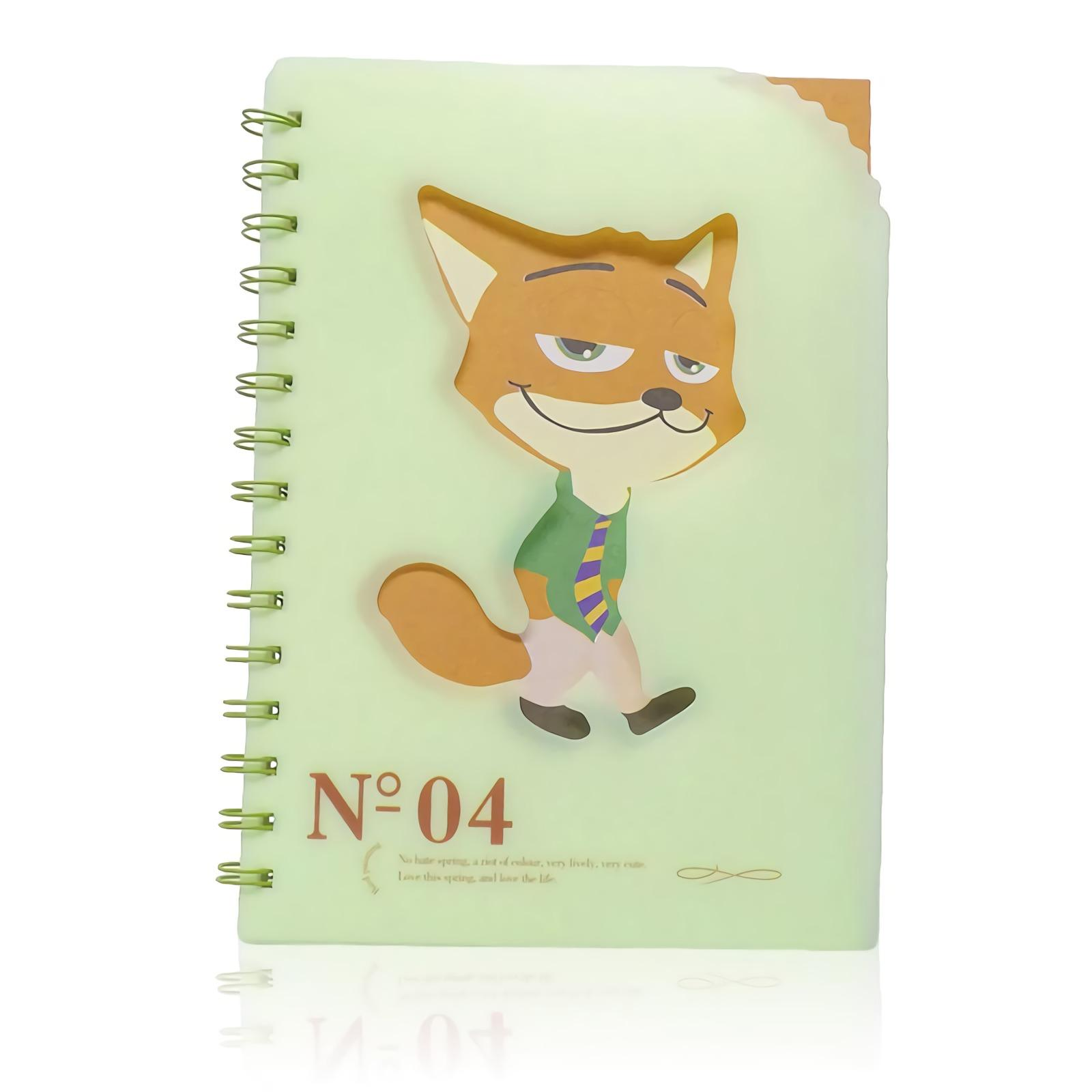 OHOME Buku Tulis [77 Lembar] Note Book Ukuran A5 Notebook Catatan MS-28825-40-NO-04 Hijau