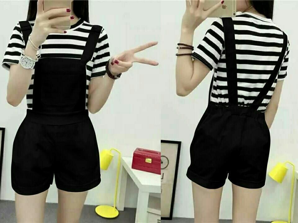 Honeyclothing Mini Jumper Cewek Alela / Baju Wanita / Pakaian Terbaru / Baju Baju Murah / Jumpsuit Pendek / Baju Kodok Baru