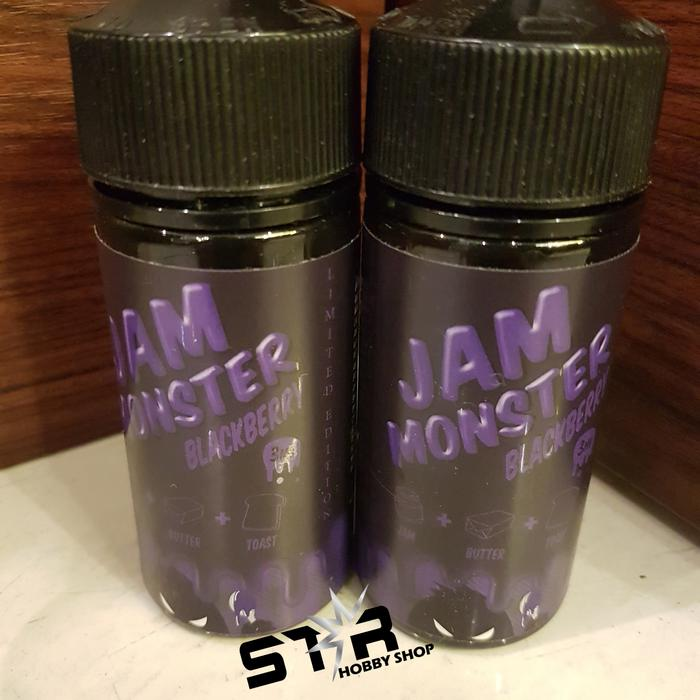 Harga Spesial!! Jam Monster Blackberry 100Ml I Premium Vape Usa Liquid Us E Juice - ready stock