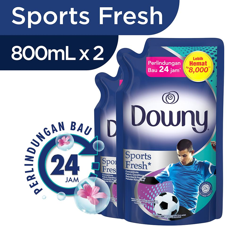 Buy Sell Cheapest Paket Stella Pewangi Best Quality Product Deals Matic Refill Downy Pelembut Pakaian Sports Fresh 800ml Isi 2