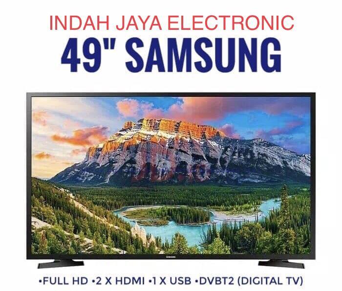 LED 49 INCH SAMSUNG 49M5050-FULL HD-DIGITAL TV KHUSUS JABODETABEK ( untuk keluar kota wajib di packing kayu )