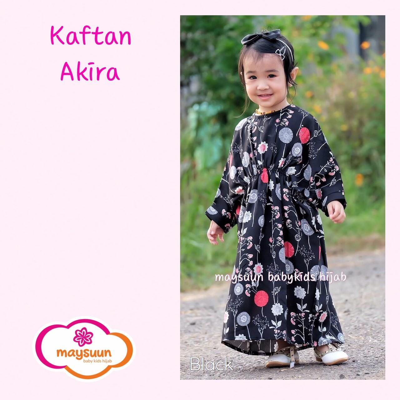 TERBARU Kaftan Anak Perempuan , Baju Muslim Anak Cantik, Gamis anak Model Kimono Anak Murah